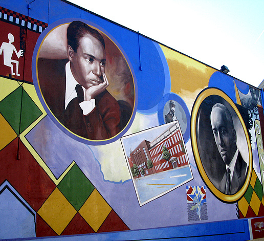 Black history through d c murals photos dcentric for Black history mural