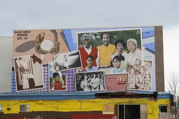 Black history through d c murals photos dcentric for Duke ellington mural