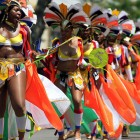 Dancers representing the Virgin Islands participate in 2008's D.C. Caribbean Festival.