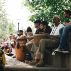 A weekly drum circle has been decades-old a mainstay in the park called Meridian Hill by some, and Malcolm X by others.